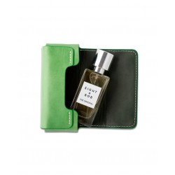 Grass Green Leather Case