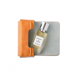 Camel leather case